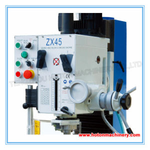 Vertical Bench Drilling and Milling Machine (Small Drilling Milling ZX45) pictures & photos