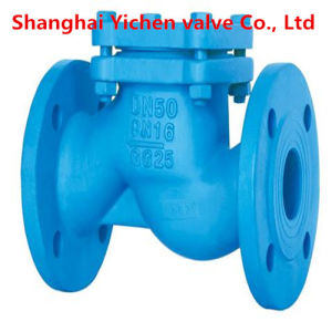 Cast Iron Swing Flanged Check Valve pictures & photos