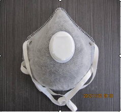 Disposable Mask with Activated Carbon, Exhalation Valve and Leather pictures & photos