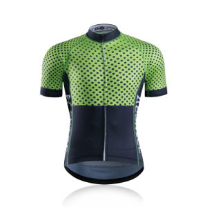 Customized OEM ODM Moisture-Wicking Sublimatedcycling Jersey