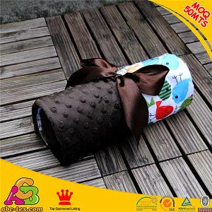 70cm*100cm Minky Digital Jay Pattern Kid Blankets