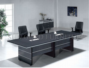 Factory Custom 10 Seats Wooden Conference Table (SZ-MT025) pictures & photos