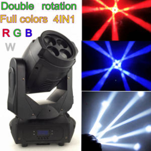 Moving Head LED100W Double Rotating Beam Head Light pictures & photos