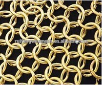 Decorative Stainless Steel Chainmail Ring Metal Mesh Curtain pictures & photos