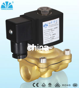Brass Normally Closed Gas Solenoid Valve