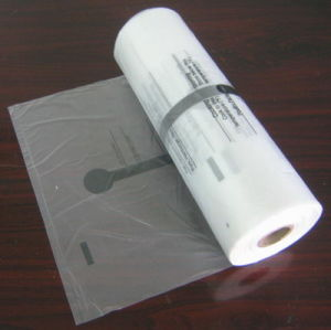HDPE Transparent Printed Plastic Roll Bag pictures & photos