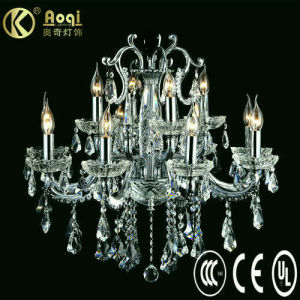 Modern Design Crystal Chandelier Lamp (AQ30003-8+4) pictures & photos