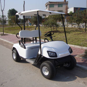 White Color 2 Seater Electri Golf Car (JD-GE501A) pictures & photos