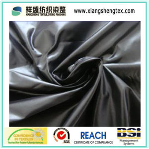Waterproof Polyester Pongee Coated Fabric with Embossed Pattern pictures & photos