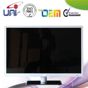 Fashionable Silver White Good 32 Inch Smart LED TV pictures & photos