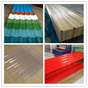 (0.125-0.5mm) Building Material Dx51d PPGI PPGL Corrugated Steel Roofing Sheet pictures & photos