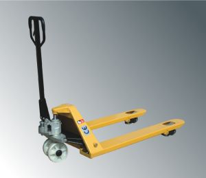 3500kg Heavy Duty Hand Pallet Truck with High Quality (AC PUMP) pictures & photos