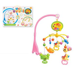 Baby B/O Products ABS Material Rotating Bed Bell Toy with Music and Light (10214174) pictures & photos