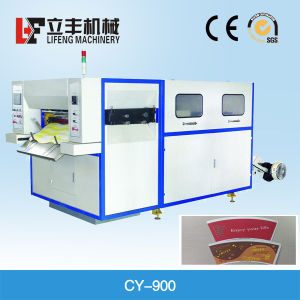 High Speed Paper Creasing and Cutting Machine pictures & photos