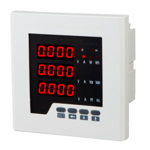 LED Display 3 Phase Multifunction Digital Power Meter pictures & photos
