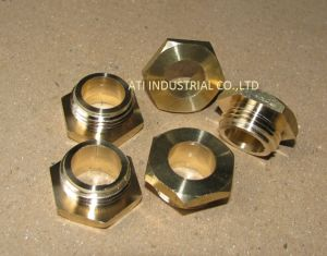 Brass Part / Brass Hexagon Nut pictures & photos