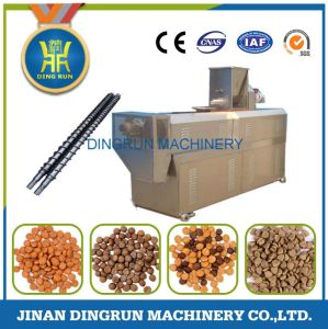 Animal pet dog food extruder making machine pictures & photos
