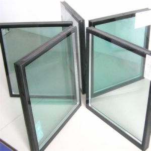 Low E Coated Insulated Windows Glass / Double Glazing Curtain Wall Window Glass pictures & photos