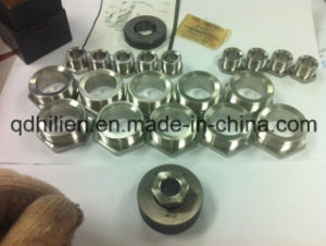 Steel Pipe Joint with Precision Turned