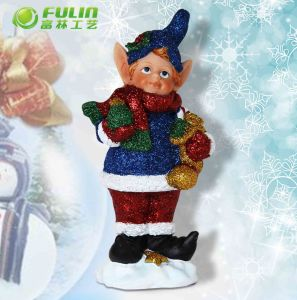 Christmas Decorative Cute Ears Fairy Ornament (NF14239A-4)