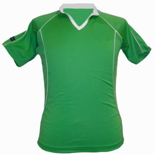 Classic Plain Green Sublimated Tennis Wear pictures & photos