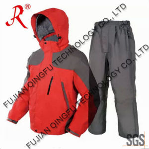 Utility Waterproof Winter Fleece Fishing Clothing (QF-9037) pictures & photos