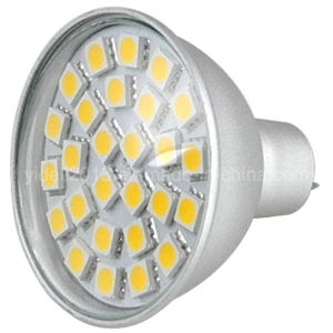 Best Seller 5W White Down Lighting Bulb MR16 27 5050 SMD LED Lamp Spot Light pictures & photos
