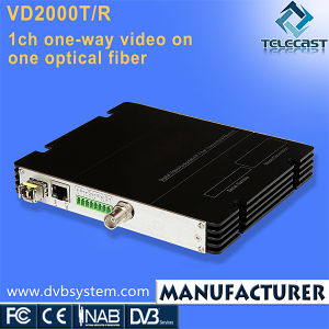 1CH One-Way Video on One Optical Fiber (VD2000TR-1V)