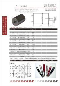 Brush Coreless DC Motor for Tattoo Pen (1725R) pictures & photos