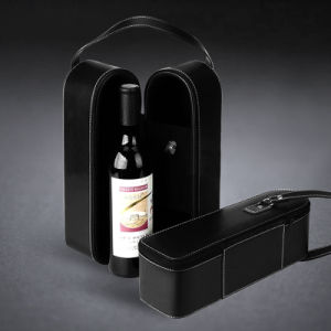 Hot Sale PU Leather Wine Box/ Gift Wine Box pictures & photos