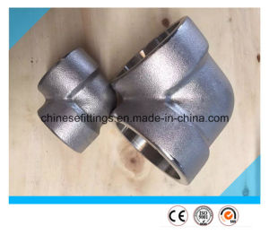 ANSI 90 Degree Stainless Steel Fittings Forged Elbow pictures & photos