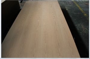 Natural Red Beech Fancy Veneer Plywood for Interior Use 4.8mm and 12mm pictures & photos
