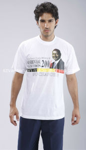 Plain 100% Cotton Election Campaign Tshirt for Promotion pictures & photos
