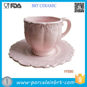 Classical Fancy Ceramic Breakfast Tea Cup Porcelain Mug pictures & photos