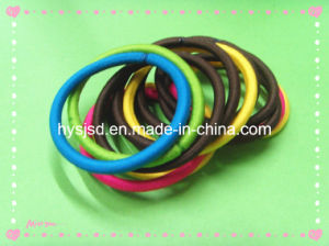 4mm*14cm Colorful Elastic Hair Loop pictures & photos