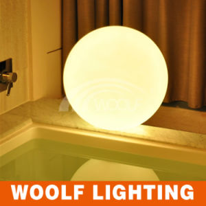 Rechargeable Battery Operated LED Mini Ball Table Lamps pictures & photos