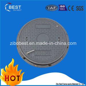 D400 Round En124 Composite Resin 600*50mm Double Seal Manhole Cover pictures & photos