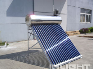 Copper Coil Stainless Steel Solar Water Heater pictures & photos