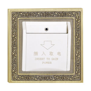 Brass Hotel Key Card Switch pictures & photos