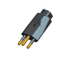 (070202) 20A Brazil AC Power Electrical Plug Top for Industrial Socket pictures & photos