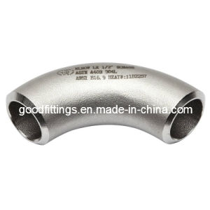 Stainless Steel Pipe Fittings Long Radious Elbow (PED3.1 Cert.)