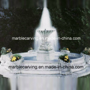 Cheap White Marble Shell Water Fountain pictures & photos