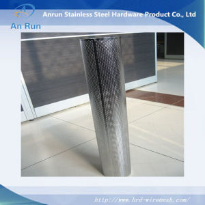 Stainless Steel Perforated Oil Filter Tube pictures & photos