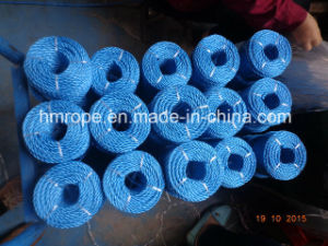 PP Splitfilm 3 Strands Twisted Rope Agriculture Packing Rope pictures & photos
