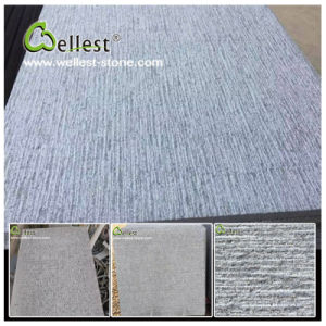 China Grey Bluestone/Basalt Chiselled Basalt Tile for Floor/Wall pictures & photos