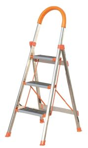 En131 Approved 4 Step Household Ladder with Anti-Slip pictures & photos