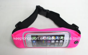 Customized Popular Lycra Waist Phone Case, Lycra Waist Bag for iPhone pictures & photos