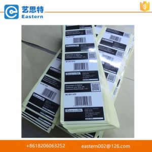 OEM Self Adhesive Glossy Lamination Label Sticker pictures & photos