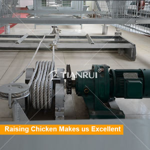 Broiler Chicken Cage Manure Scraper Cleaning Machine for Chicken Farm pictures & photos