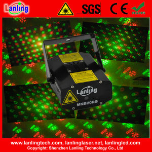 20 Gobos Mini Stage Laser Lighting for Christmas Party with Gift Box pictures & photos
